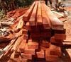 Padouk sawn timber