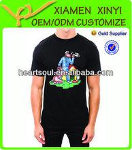 Custom Logo Fashion New Design Mens Modal T-shirts