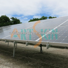 Solar mounting system for solar panel installation 1MW
