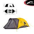 2 tenda pessoa/impermeável tecido tenda/barraca de camping