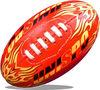 PVC Mini AFL football