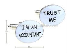 """I AM AN ACCOUNTANT TRUST ME"" Cufflink"