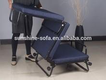 Stahlkonstruktion klappbett mit matratze für haus-und hotelbesuche