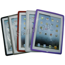 Cheapest price soft silicone case for ipad 3
