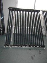 Split high pressured vacuum tubes solar water heater collector