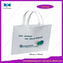 high quality purple non woven fabric shopping bag