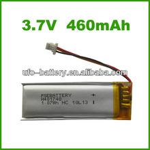 3.7v 460mAh li ion battery,battery,car battery for GPS, GMS, portable devices