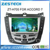 ZESTECH CAR DVD player with gps for Honda Accord 7 Car DVD with GPS Navigation Touch-Screen,Bluetooth,ipod,Radio,Multi-languages