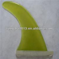 Transparent longboard Fins for Hot Sale