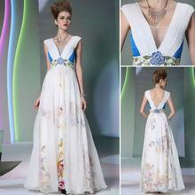 hot sale deep V-neck Zuhair Murad prom dress pregnant women dresses for sale 30855