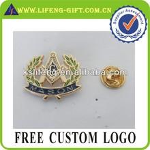 masonic metal lapel pin badge emblem