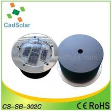 10years lifespan Solar Ground light CS-SB-302C with Super Capacitor
