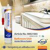10 Year Guarantee Non Yellowing, Level 0 Antifungal Result Anti-Mildew Sealant