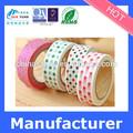 La cinta japonés washi washi cinta de color rojo, washi, cinta de impresión de color rojo washi de cinta de papel