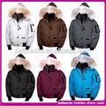 2014 moda donna pellicciaimpermeabile con cappuccio piumino/signora sport giù cappotto