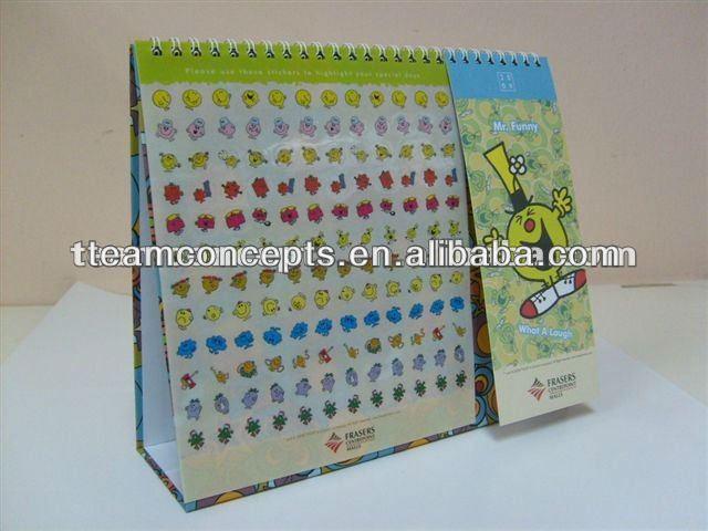 2014 cheap desk calendar sample for free