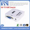 Hot sell Mini VGA TO HDMI adapter VGA TO HDMI Converter Cable full 1080P
