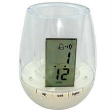 Factory promotional mini digital clock pen