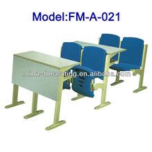 FM-A-021 High school used plastic school desk chair for sale