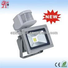 high quality IP65 10W ir sensor led flood light 85-265V