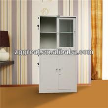 Modern metal file cabinet decoration for school