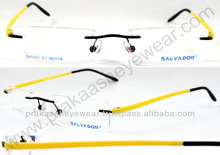 TR material Rimless 3 Pis Eye Glasses Frames