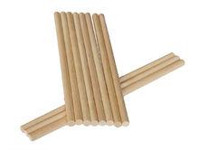 Wooden 160x6, 140x6, 150x6, 120x6 mm Round Ice Cream Sticks
