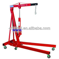 1T Folding engine lift engine lifting crane for home garage