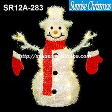 [2012 Hot New!]3D LED Christmas snowman light decoration (Outdoor MOQ: 200PCS, GS/CE/UL/ROHS)