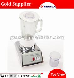 geuwa electric glass jar blender with 2 speed KD-316