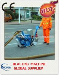Highway, road and pavement blasting machine