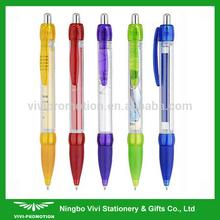 Retractable Cheap Flyer Pen Banner Pen for Promotion (VBP253)