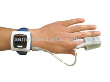 CE and FDA approved built-in flash memory pulse rate wrist watch cms50f pulse oximeter
