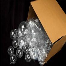 Clear Acrylic 70mm Fillable Keepsake Ball Ornaments