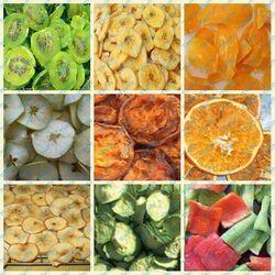 Orange Lemon Banana slice drying machine of fruit dryer system