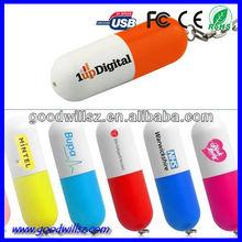 Fine OEM medicine pill shape USB stick
