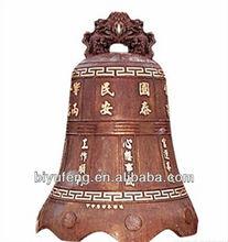 adjustable bike cast iron antique brass temple bell religious