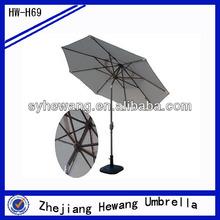 2.7m luxury patio furniture umbrella