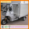 Chong Qing Manufactor Van Closed Cargo Box Tricycle For Sale