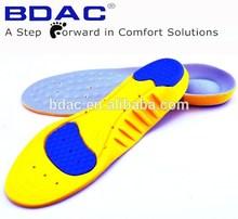 soft foam shock absorption sports shoe insole