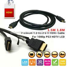 Stock 0.66~0.85usd/pcs 1.5m 1.8M USB to Mini VGA DVI RCA HDMI cables