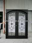 lowes wrought iron security doors/iron grill door designs/used wrought iron door gates