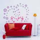 Removable PVC Wall Stickers,Full House, 30x30cm