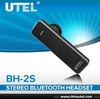 Hot new products for 2014 UTEL BH-2S super mini bluetooth headset with noise cancelling