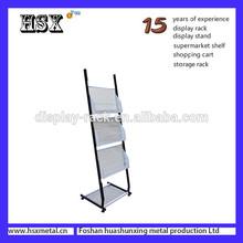 metal magazine and brochure display rack HSX-S1009