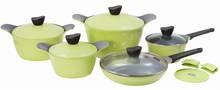 Korea Excellent Non Stick Ceramic Coating Cookware Set