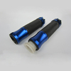 cheap Blue Alloy Rubber motorcycle handle bar grip