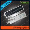 PIR Sensor automatically lighting all in one solar street light