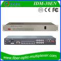 Multiplexor pcm 30fxo/fxs de audio convertidor de ethernet