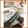 Modern U Shape Stair, Steel Wood Stair